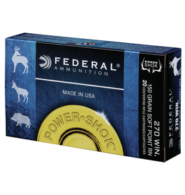 FEDERAL FEDERAL 270 WIN. 150GR POWER SHOK SP RN