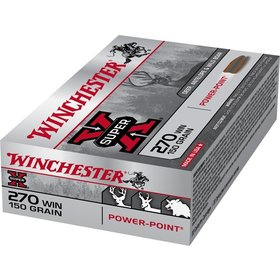 WINCHESTER WINCHESTER 270 WIN 150GR POWER POINT 20 RDS