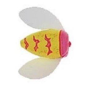 WORDEN'S WORDEN'S SPIN-N-GLO WALLEYE RIG #6 GLITTER CHR PINK TIGER