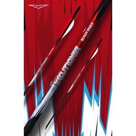 "BLACK EAGLE BLACK EAGLE EXECUTIONER CROSSBOW FLETCHED ARROWS 20"" .001"" 6PK"