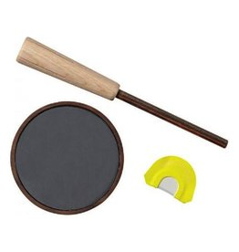 HUNTER SPECIALTIES HUNTER'S SPECIALTIES COMBO SMOKIN GUN SLATE PAN CALL & TRIPLE REED DIAPHRAGM