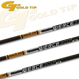 "GOLD TIP GOLD TIP PIERCE PLATINUM 340 2.75"" 4 FLETCH VANES 12PK"