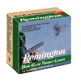 REMINGTON REMINGTON GUN CLUB TARGET LOADS 12 GA 2 3/4 #7 1/2 SHOT