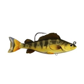 """KOPPERS KOPPERS LIVE TARGET SWIMBAIT 4 1/2"""" YELLOW PERCH GOLD OLIVE"""