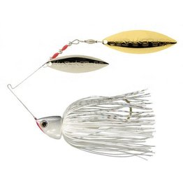 STRIKE KING STRIKE KING BURNER SPINNERBAIT 1/2 OZ WHITE
