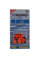 """AMS BOWFISHING AMS BOWFISHING SAFETY SLIDES SYSTEM 5/16"""" 5PK"""