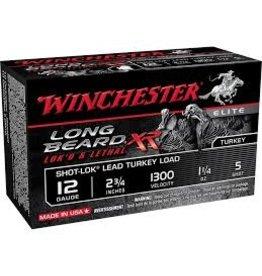 "WINCHESTER WINCHESTER LONG BEARD XR LOK'D &LETHAL 12 GA 2.75"" 1.1/4 OZ #5"