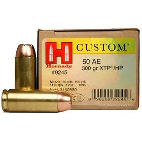 HORNADY HORNADY C.50 AE 300 GR XTP 20 RDS