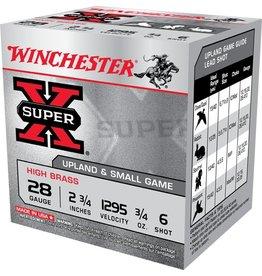 WINCHESTER WINCHESTER 28 GA HB/HG 3/4 OZ #6 SUPER X