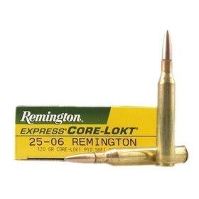 REMINGTON REMINGTON 25-06 120GR CORE-LOKT PSP R25063