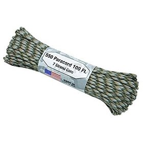 ATWOOD ATWOOD ROPE MFG. 550 PARACORD 100FT