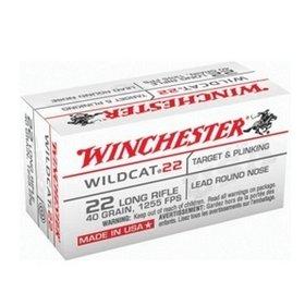 WINCHESTER WINCHESTER WILDCAT 22LR 40GR SINGLE