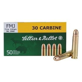 SELLIER & BELLOT SELLIER & BELLOT C.30 CARBINE 110 FMC 50 RDS