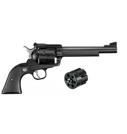 RUGER RUGER BLACKHAWK CONVERTIBLE REVOLVER 357 MAG AND 9MM 6.5""
