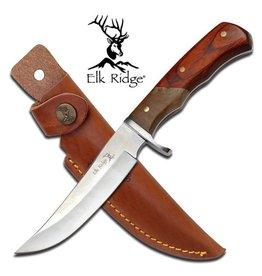 "ELK RIDGE OUTDOOR FIXED BLADE KNIFE 9.25"" W/ SHEATH"