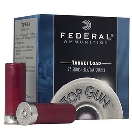 FEDERAL FEDERAL TARGET LOAD 12GA 1 OZ TOP GUN #8 25 SHELLS
