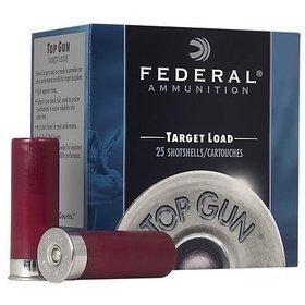 FEDERAL FEDERAL TARGET LOAD 12GA 1 OZ TOP GUN #8 25 SHELLS