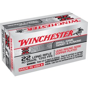 WINCHESTER WINCHESTER SUPER X22 LR 40GR 1255 FPS 50 RDS