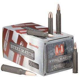 HORNADY HORNADY STEEL MATCH 223 REM 55 GR HP