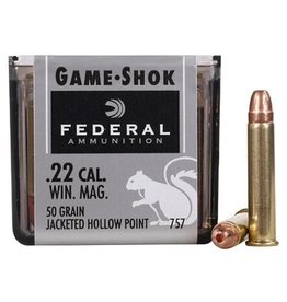 FEDERAL FEDERAL C.22 WIN MAG 50 GR JHP 50 RDS