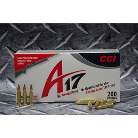 CCI CCI 17 HMR FOR A17 17GR VARMIT 200RDS /BOX