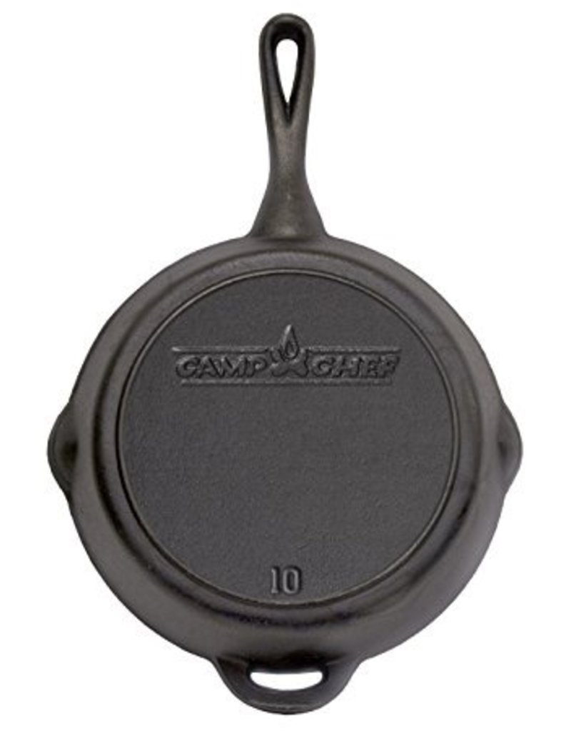 "CAMP CHEF CAMP CHEF 10"" CAST IRON SKILLET"