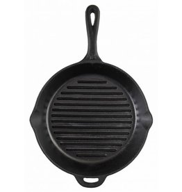 "CAMP CHEF 12"" CAST IRON SKILLET W/ RIBS"
