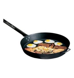 "CAMP CHEF CAMP CHEF 20"" LUMBERJACK SEASONED STEEL SKILLET"