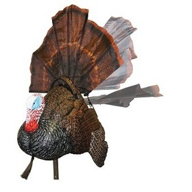MOJO OUTDOORS MOJO SHAKE N' JAKE MOTION TURKEY W/ REMOTE