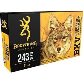 BROWNING BROWNING BXV 243 WIN 65GR VARMINT 20 RDS