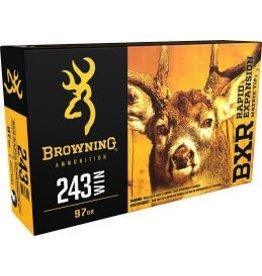 BROWNING BROWNING BXR 243 WIN 97 GR DEER 20 RDS