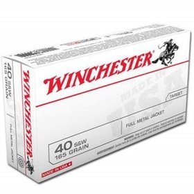 WINCHESTER WINCHESTER 40 S&W 165GR 500 RDS CASE