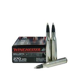 WINCHESTER WINCHESTER 270 WIN 130GR BALLISTIC SILVERTIP 20 RDS