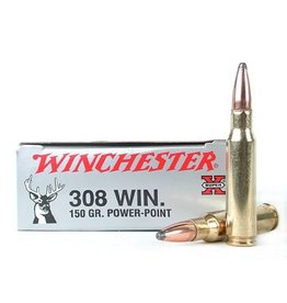 WINCHESTER WINCHESTER 308 150GR POWER POINT 20 RDS