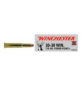 WINCHESTER WINCHESTER 30-30 WIN 170GR POWER POINT 20 RDS