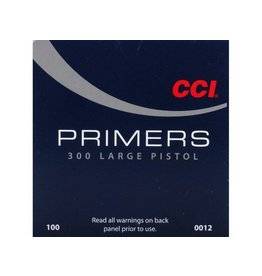 CCI CCI #300 LARGE PISTOL PRIMERS 100 RDS