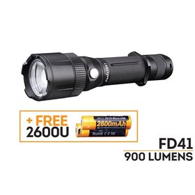 FENIX FENIX FD41+2600U BATTERY 900 LUMENS FLASHLIGHT