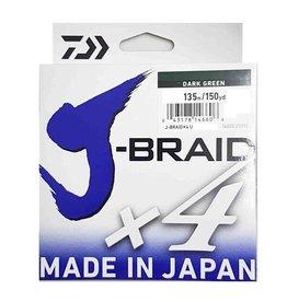 DAIWA DAIWA J-BRAID X4 30LB 135M DARK GREEN