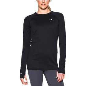 UNDER ARMOUR UNDER ARMOUR WOMEN'S 4.0 CREW EXPEDITION WEIGHT BASELAYER