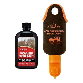 TINK'S TINK'S #69 DOE-IN-RUT BUCK LURE DIAL-A-DRIPPER POWER SCRAPE COMBO