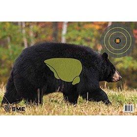 SME BEAR GAME TARGETS 3PK