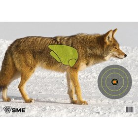 SME COYOTE GAME TARGETS 3PK