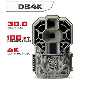 STEALTH CAM STEALTH CAM DS4K ULTRA HD NO GLOW 30 MEXAPIXEL 100 FT RANGE