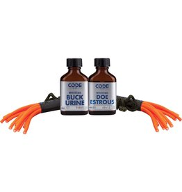 CODE BLUE CODE BLUE WHITETAIL DOUBLE SCENT COMBO