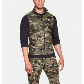 UNDER ARMOUR UNDER ARMOUR OFF GRID FLEECE CAMO VEST