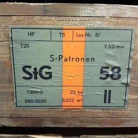 NORINCO HIRTENBERGER C.308 WIN 7.62 X 51 FMJ 720RDS