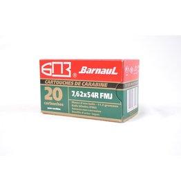 BARNAUL BARNAUL 7.62x54R 185GR OR 174GR FMJ 20 RDS