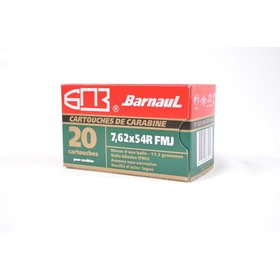 BARNAUL BARNAUL 7.62x54R 185GR OR 174GR FMJ