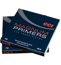 CCI CCI MAGNUM LARGE PISTOL PRIMERS NO. 350 100 PRIMERS