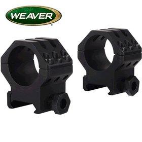 WEAVER WEAVER TACTICAL RINGS SIX HOLE HIGH MATTE